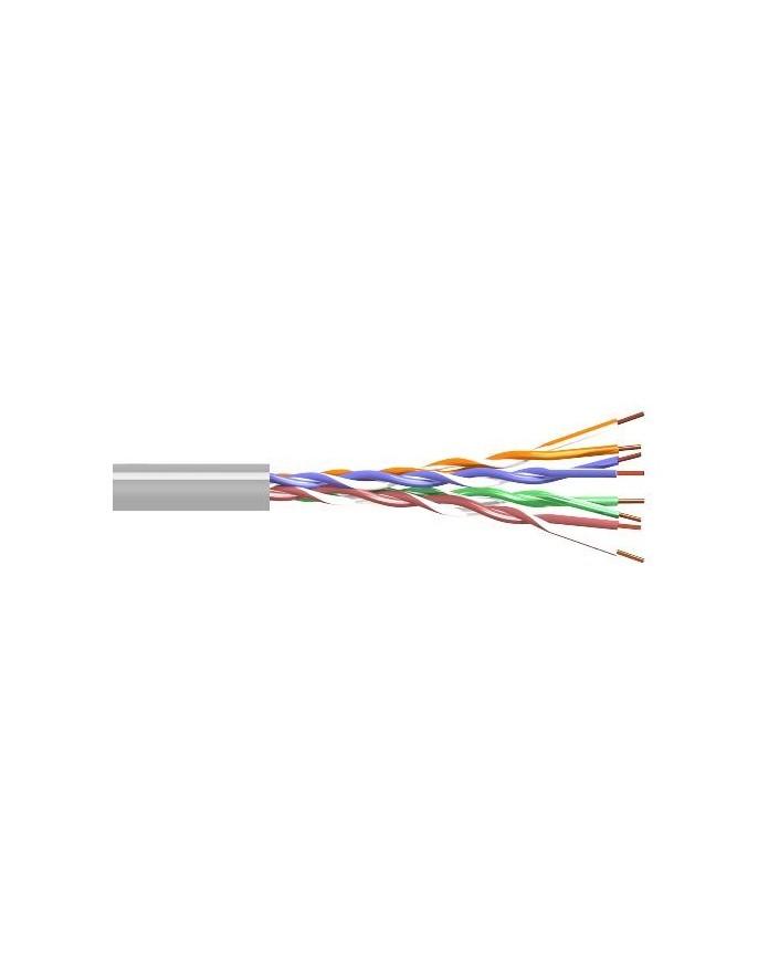 Cable UTP CAT5 Gris (Rollo 100m) CCA