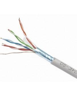 Cable FTP CAT5 Gris (Rollo 100m) CCA