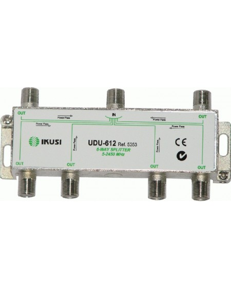 DISTRIBUIDOR 6 DIRECC.UDU-612 paso corriente