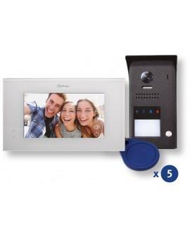 Kit de vídeo color de 1 línea J5110 Pentha