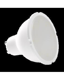 Bombilla dicroica LED SMD 5.5W casquillo GU10 luz cálida