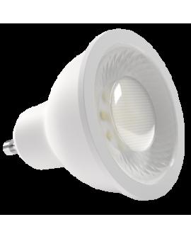Bombilla dicroica LED SMD 8W casquillo GU10 luz blanca