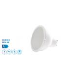 Bombilla dicroica LED SMD 9W casquillo GU10 luz cálida