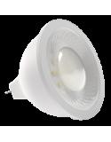 Bombilla dicroica LED SMD 8W casquillo MR16 luz blanca