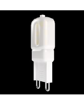 Lámpara LED SMD 2.5W casquillo G9 luz cálida
