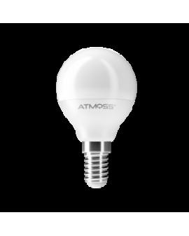 Lámpara Miniesférica G45 E14 6W Serie Ampera