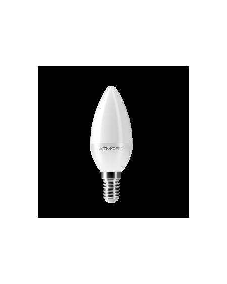 Lámpara Vela C37 E14 6W Serie Ampera