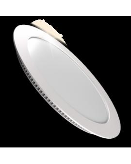 Downlight LED Circular Plano Blanco 18W Luz Neutra