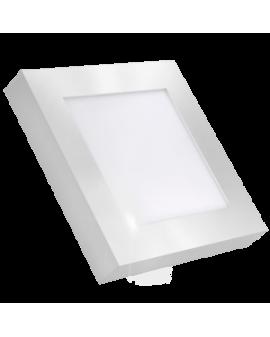 Downlight LED Cuadrado de Superficie Blanco 18W Luz Neutra