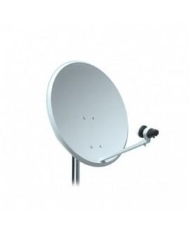 Kit Antena parabolica 60 cm + LNB + Soporte Televes 10 unidades