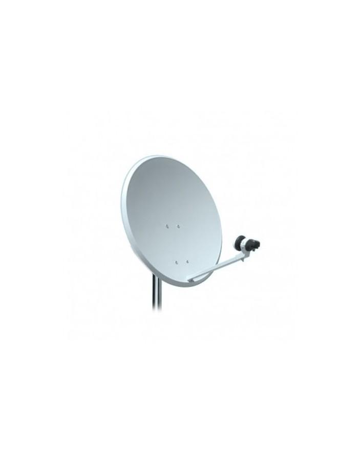 Kit Antena parabolica 60 cm + LNB + Soporte Televes 5 unidades
