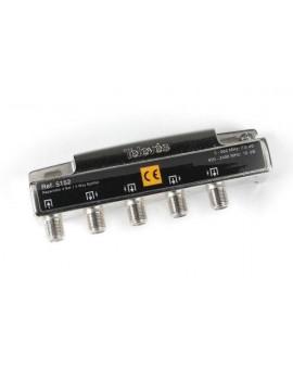 Repartidor de 4 salidas, conector F 2400MHz