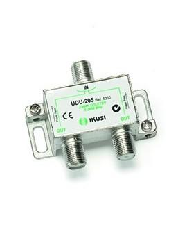 Distribuidor 2 direcciones UDU-205 Paso de corriente