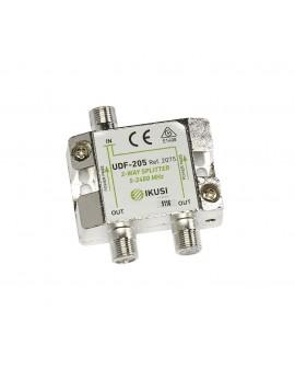 Distribuidor 2 salidas UDF-205. Paso de corriente