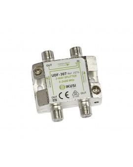 Distribuidor 3 salidas UDF-307. Paso de corriente