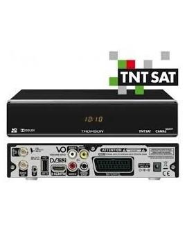 Receptor de satélite HD TNTSAT Thomson THS804