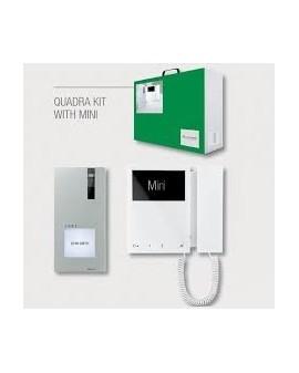 kit video portero a color Quadra Mini Comelit  8461M