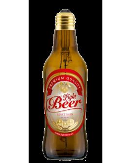 Bombilla LED Light Beer Marrón con etiqueta
