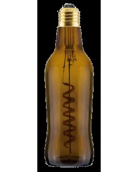 Bombilla LED Light Beer Marrón