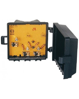 Mezclador para mastil de 2e VHF/UHF-VHF/UHF, Borne /Ikusi