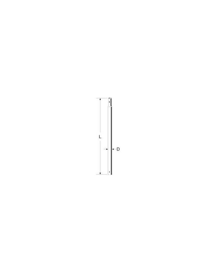 CARRAQUEADO MASTIL 2,5x30x1,0