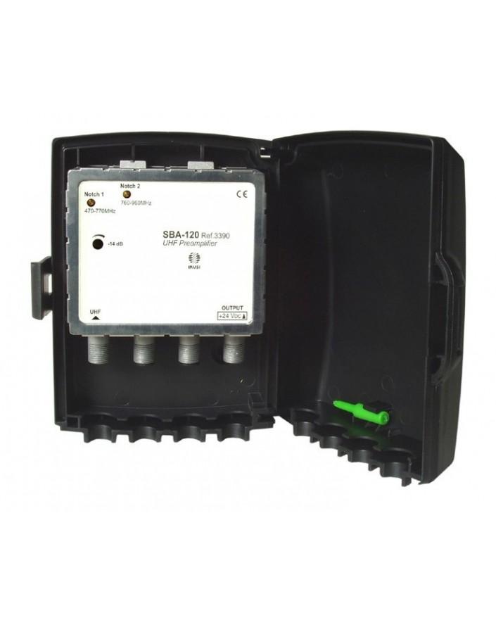 Amplificador de Mastil 1e, 1s, BI/BIII/UHF. F/ Ikusi