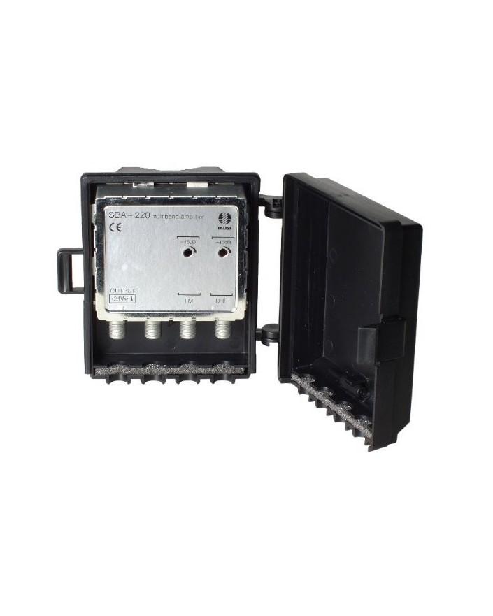 Amplificador de Mastil 2e, 1s, FM-UHF. F/ Ikusi