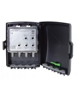 Amplificador de Mastil 2e, 1s, BI/BIII-UHF+. F/ Ikusi