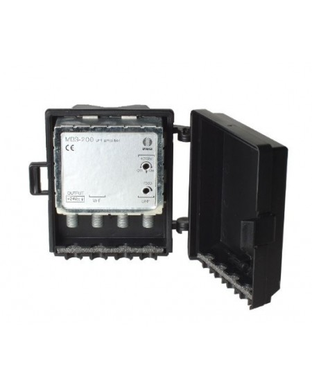 Amplificador de Mastil 2e, 1s, VHF-UHF+.