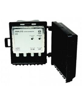 Amplificador de Mastil 2e, 1s, BI/BIII-UHF.