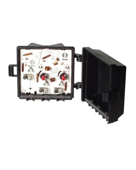 Amplificador de Mastil 2e, 1s, FM-UHF+. Borne/ Ikusi