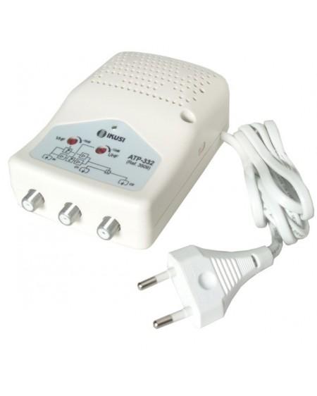 Amplificador de Interior TDT 2 salidas, 47-862MHz. F