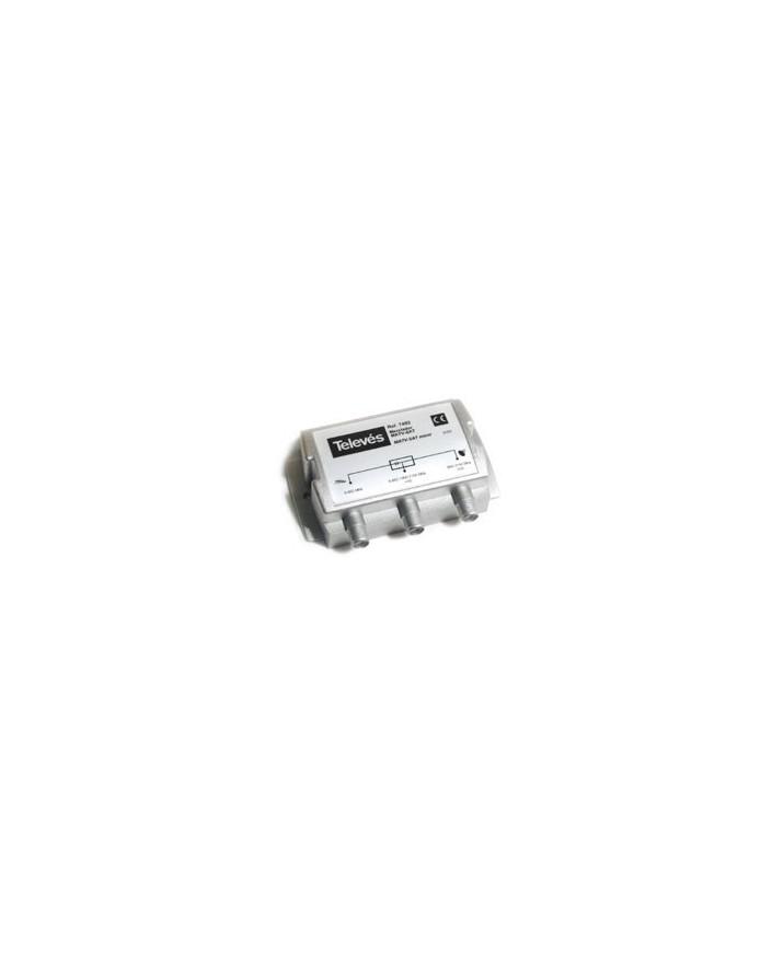 Mezclador TDT-Satelite, 2e, 1s, 5-2400 Mhz RF+FI /Televes