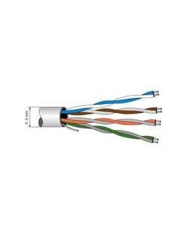 Cable de datos UTP cat5 E. Bobina 305 m.