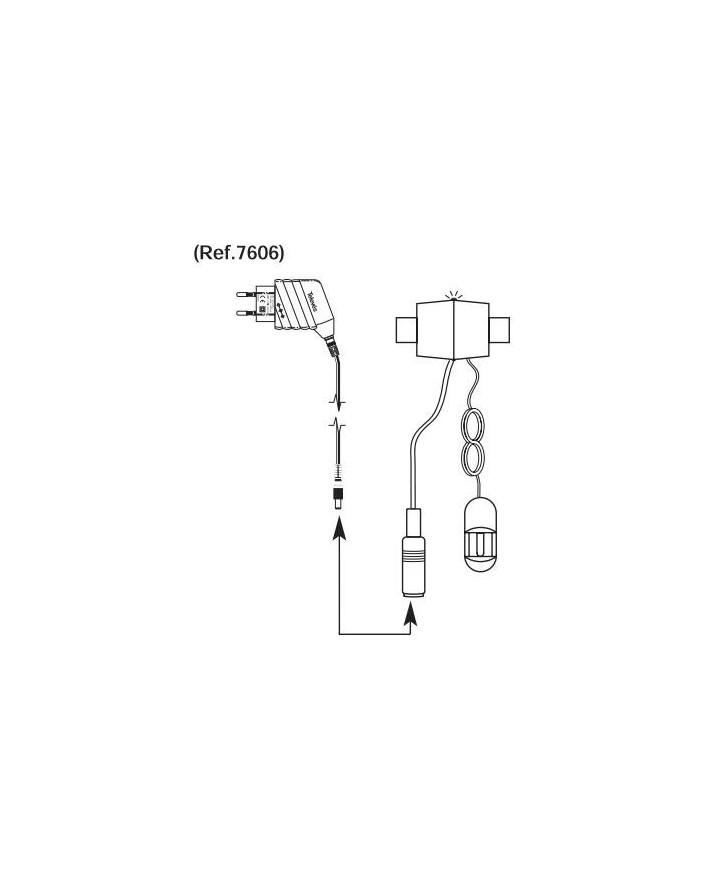Emisor suplementario señal mado a distanciapor cable coaxial