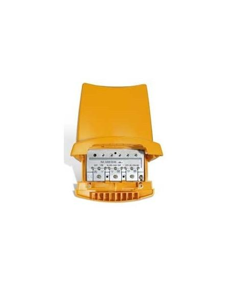 Amplificador de Mastil 5e, 1s, BI/BIII-FM-UHF-BIV/BV. Easy F/Tel